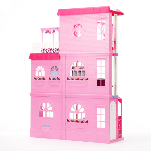 Barbie Dollhouse 3 Story Dream Townhouse Walmart Com