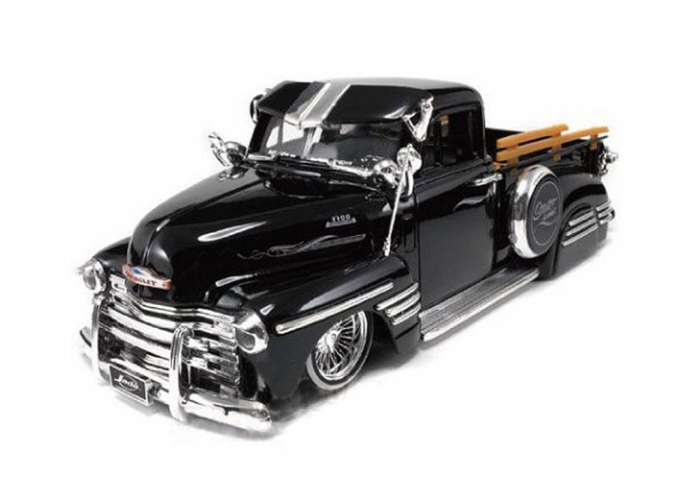 1951 Chevy Pickup Truck, Black Jada Toys 96802 1 24 scale Diecast Model Toy Car by Jada