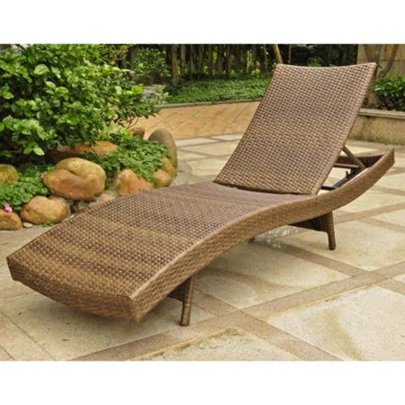 International caravan barcelona outdoor resin wicker for Adams 5 position chaise lounge white