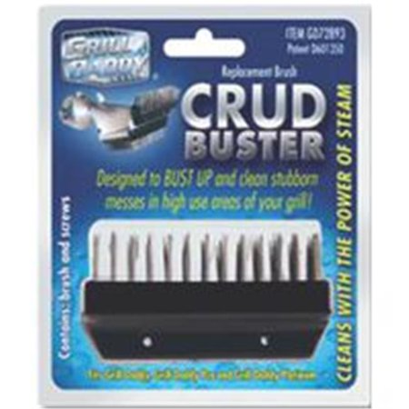 GRILL DADDY BRUSH CO., INC Crud Buster Replacement Grill Brush GD72893 ()
