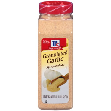 McCormick Granulated Garlic, 26 oz (Kosher Garlic)