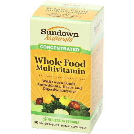 Sundown Naturals Whole Food Concentrate Multivitamin Tablets