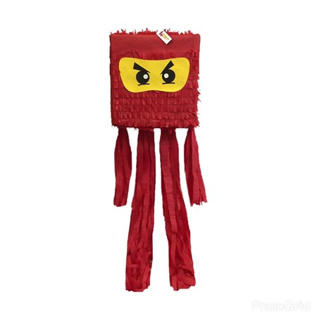Ninja Pinata Red Color for $<!---->
