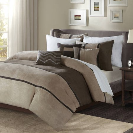 Brown Overland Duvet Cover Set (King/California King) 6pc