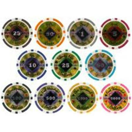 Black Diamond Poker Chip Sample Pack - 11 chips (Sample Poker Chips)