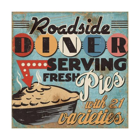 Diners and Drive Ins II Print Wall Art By Pela (Duluth Restaurants On Diners Drive Ins And Dives)