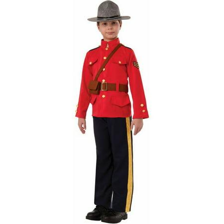 Boys Mountie Costume
