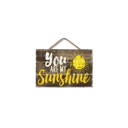 HIGHLAND WOODCRAFTERS  LLC 7100022 4 25X6 25 YOU ARE MY SUNSHINE MINI WOOD -