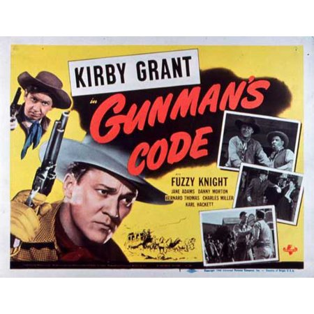 Gunman's Code POSTER Movie Mini Promo - Go Minis Promo Code