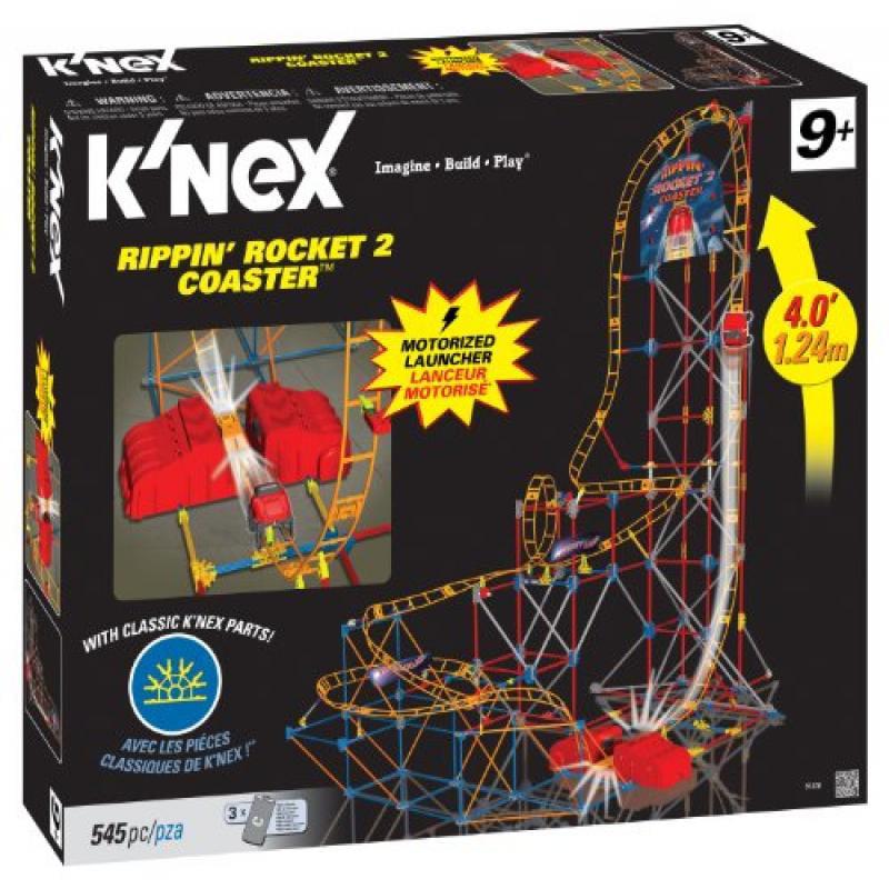 Knex Rippin Rocket Coaster