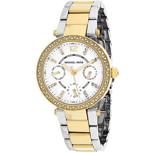 Michael Kors Women's Mini Parker Watch Quartz Mineral Crystal MK6055