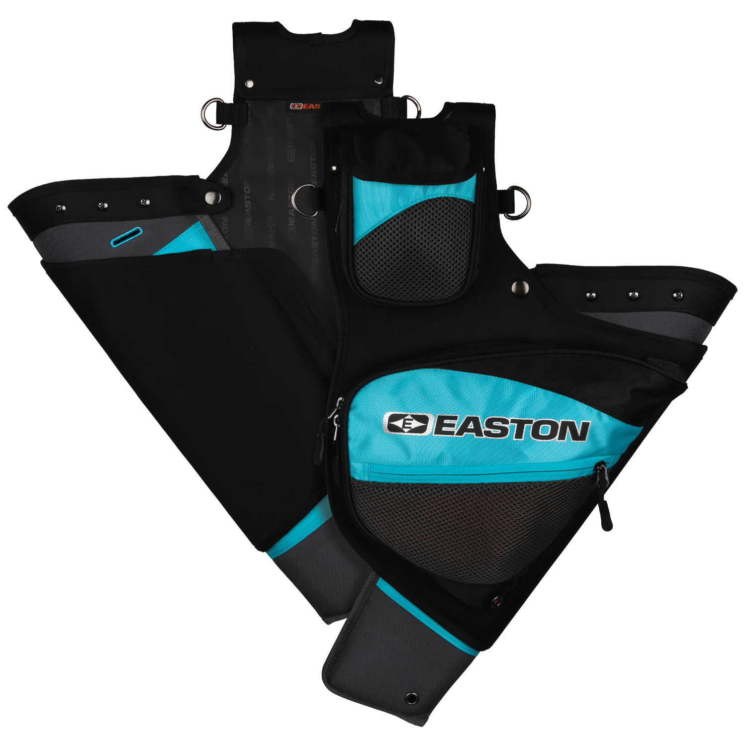 Easton Deluxe Hip Quiver, Teal, RH