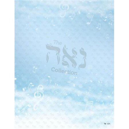 Aura Collection (Nua Collection And Gifts SZ021L Design Paper - Musical Aura  8.5 x 11 in. - 10 per Pack )