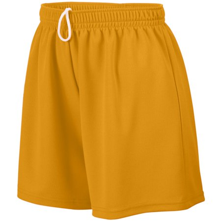 Augusta Sportswear 961 Athletic Wear Shorts Wicking Mesh Short Girls (Augusta Sportswear Mesh Shorts)