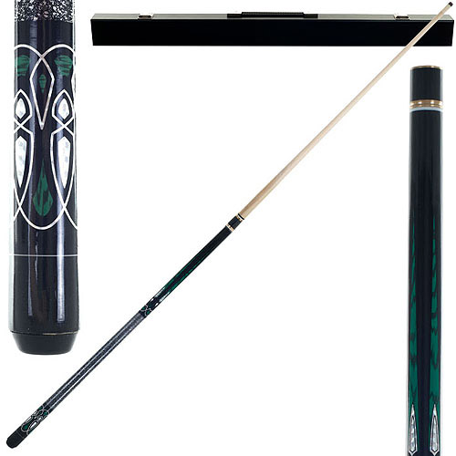 Emerald Green Laser Designer Pool Stick