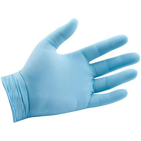 Allstar Performance ALL12020 Nitrile Gloves, Blue - Medium - image 1 de 1