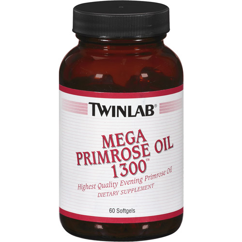 Twinlab Mega Primrose Oil 1300 Softgels, 60ct