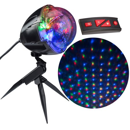 Christmas Lightshow Projection Points of Light with Remote -122 (Best Xmas Light Projector)