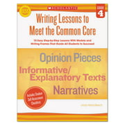 Scholastic Common Core Writing Lessons, Grade 4