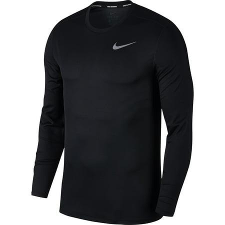 nike men's breathe long sleeve running t-shirt