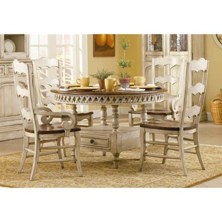 Summerglen 5 Pc Round Storage Dining Table Set