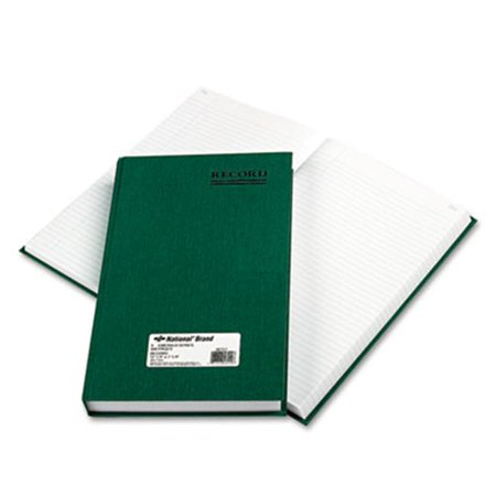 Rediform Office Products 56151 Emerald Series Account Book, Green Cover, 500 Pages, 12.25 x 7.25