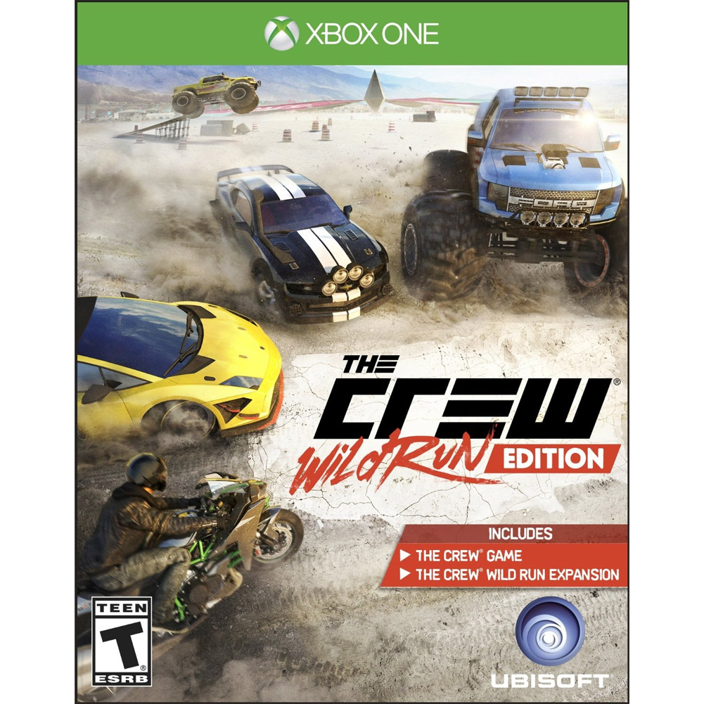 The Crew Wild Run Edition, Ubisoft, Xbox One, 887256015619