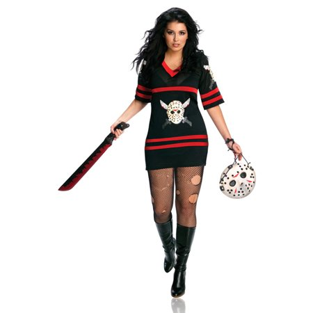 Miss Sexy Voorhess Adult Halloween - Jason Halloween Costume Women
