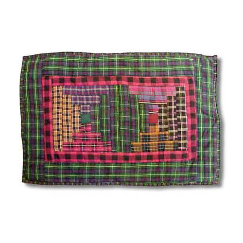 Patch Magic Tartan Log Cabin Placemat (Set of 4)
