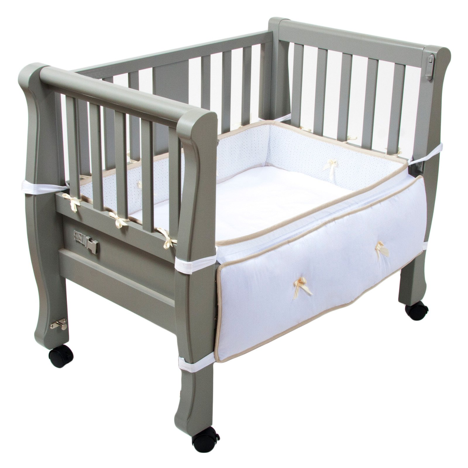 Organic Sleigh Bed Moisture Pad Arms Reach Co-sleeper