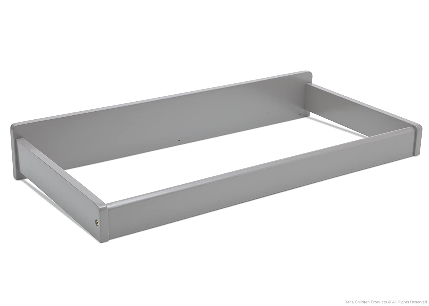 Image of: Easy To Assemble Wooden Baby Changing Table Topper Walmart Com Walmart Com