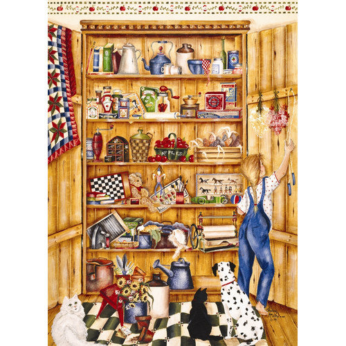 Outset Media 1000 Piece Pine Pantry Puzzle