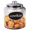 Home Basics Glass Cookie Jar