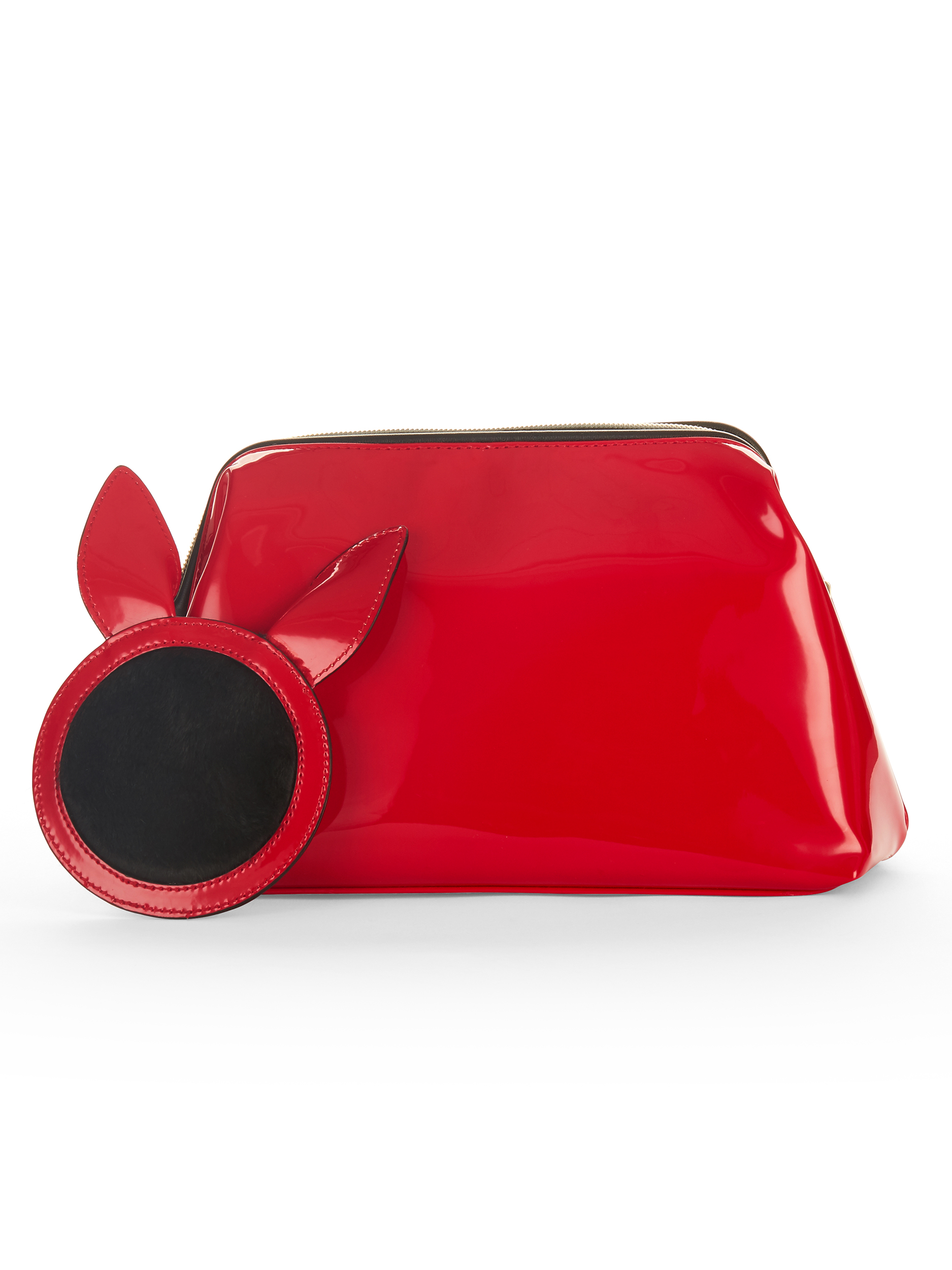 03c8e08900e8 Kendall + Kylie for Walmart Katie Red Patent Cosmetic Bag & Mirror