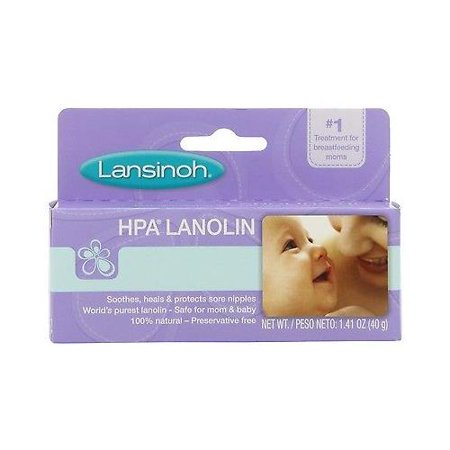 (Lansinoh HPA Lanolin Cream for Breastfeeding Mothers CREAM HEALS CRACKED NIPPLE)