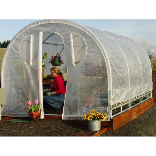 6'6'' x 8' x 12' Weatherguard Greenhouse by Overstock