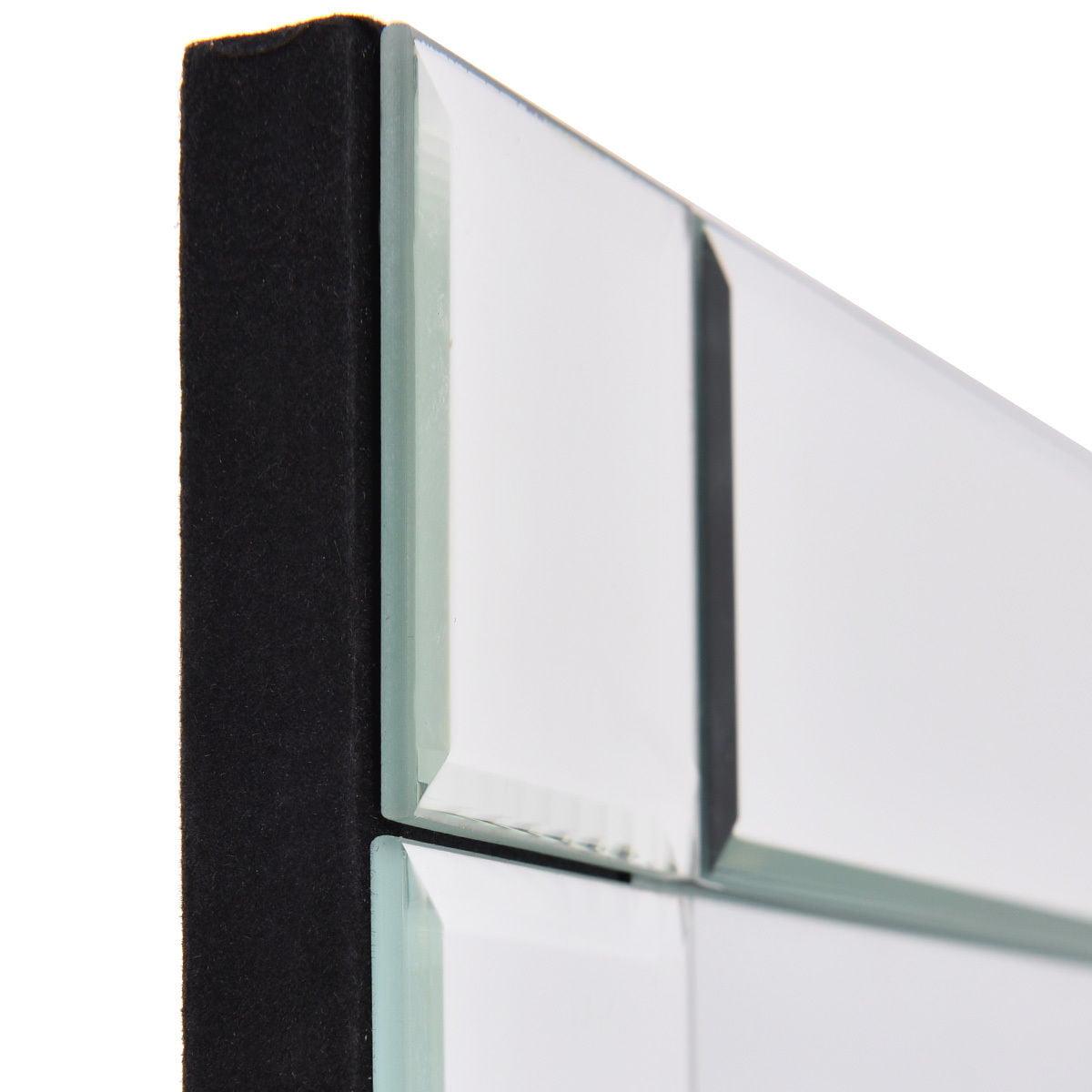 36'' Wall Mirror Rectangle Vanity Makeup Mirror Decor MDF Frame Bathroom Home - image 6 of 8