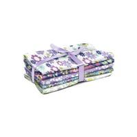 "Fabric Editions, Cotton Fabric, Fat Quarter, 5pc Bundle, ""18x21"",Ditsy Floral"