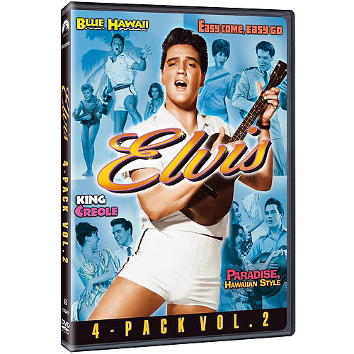 Elvis 4-Movie Collection, Vol. 2 - Blue Hawaii / Easy Come, Easy Go / King Creole / Paradise, Hawaiian Style (Widescreen)