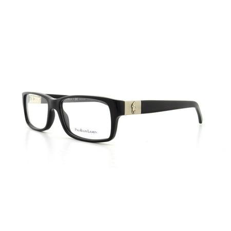 8252cb451d POLO Eyeglasses PH 2046 5001 Black 56MM - Walmart.com