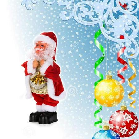 dad975e7c Christmas Electric Dancing Music Santa Claus Doll Xmas Party Baby Kids  Gifts - Walmart.com