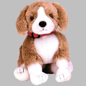 ty beanie baby - side-kick the dog [toy]