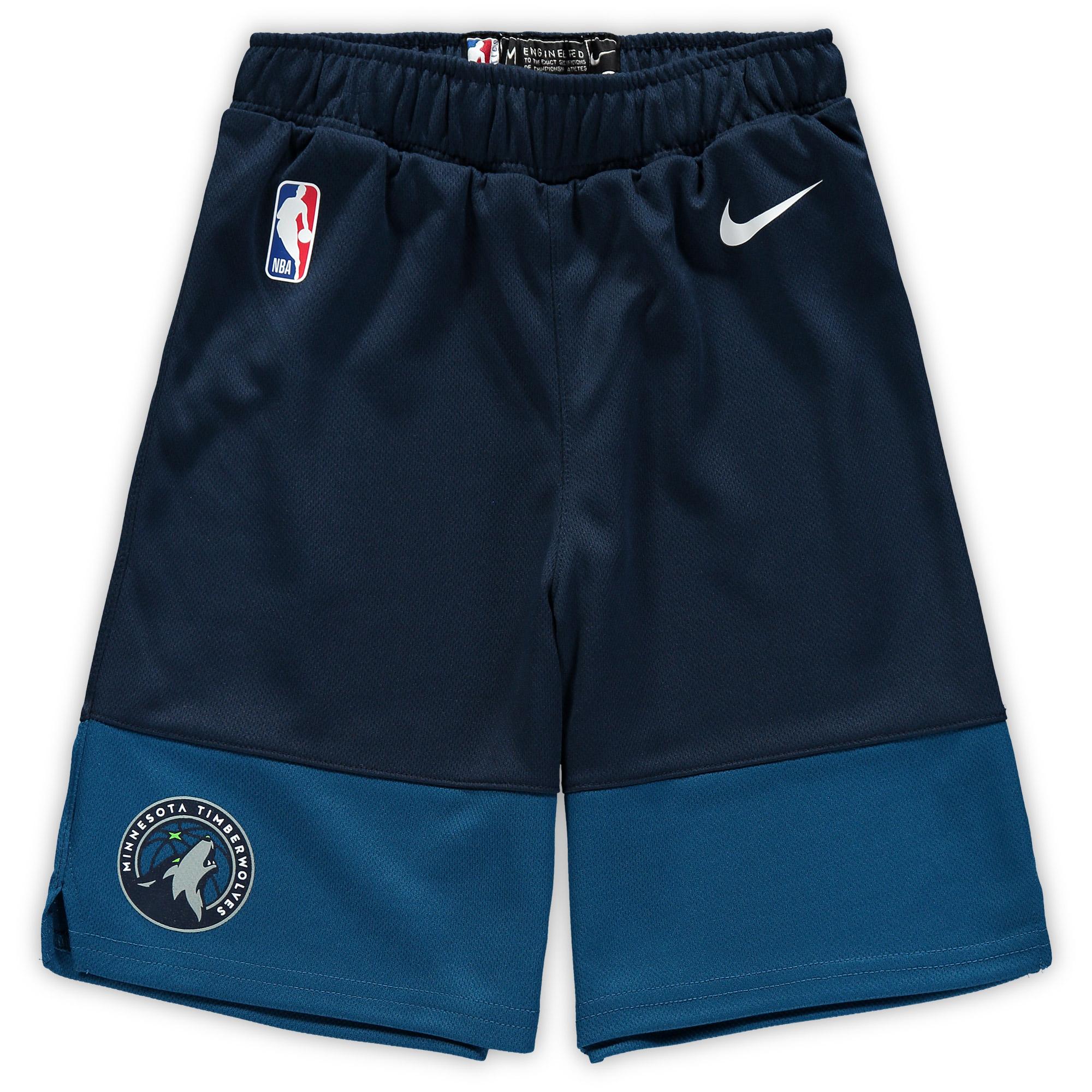 Minnesota Timberwolves Nike Preschool Icon Replica Team Shorts - Blue