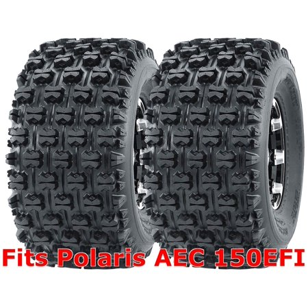 Set 2 WANDA Sport ATV Tires 22x10-10 Polaris AEC 150EFI Rear GNCC