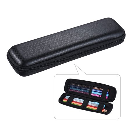 Pen Pencil PPT Pointer Holder Makeup Brush Bag EVA Hard Shell Case Stationery Pouch Box Black (Pencil Pointer)