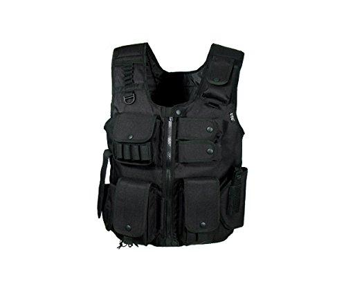 BBS UTG Law Enforcement Tactical SWAT Vest, Black