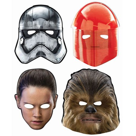 Star Wars 'The Last Jedi' Paper (8ct), By Masks Ship from US - The Town Masks For Sale