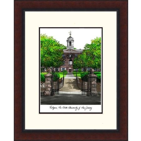 Rutgers University, The State University of New Jersey Legacy Alumnus Framed Lithograph