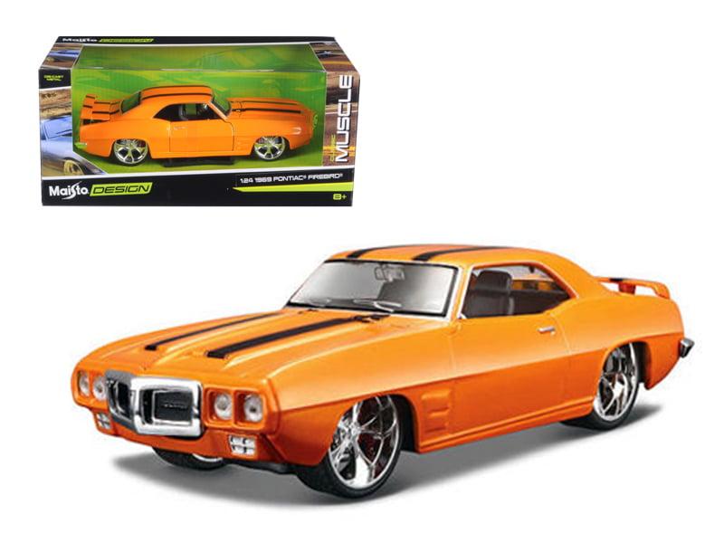 1969 Pontiac Firebird Matt Green All Stars 1 24 Diecast Model Car by Maisto by Diecast Dropshipper