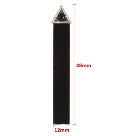 1/2'' Shank 10mm Lathe Indexable Carbide Insert Turning Tool Bit Set 5Pcs/box - image 8 of 11